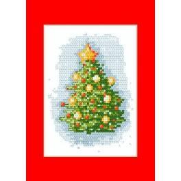 Christmas card - Cross Stitch pattern