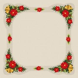 Christmas table-cloth - B. Sikora-Malyjurek - Cross Stitch pattern