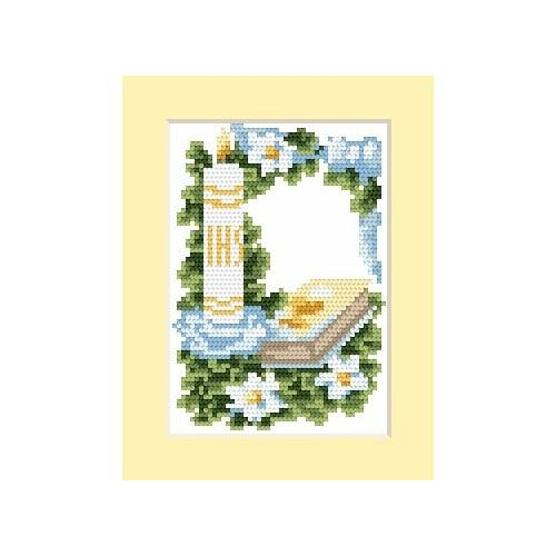 GC 4602-03 Invitation on holy communion - Cross Stitch pattern