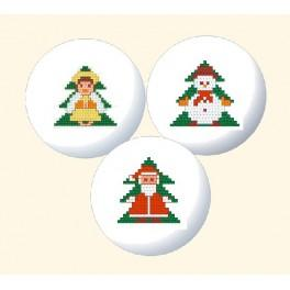 Christmas decoration - Cross Stitch pattern