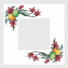 Easter napkin - Cross Stitch pattern