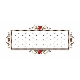 Runner - Roses - Cross Stitch pattern