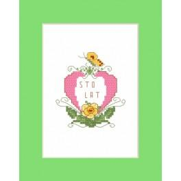 Happy birthday - Cross Stitch pattern