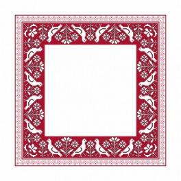 Napkin Renaissance-style - Cross Stitch pattern
