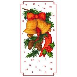 Adwent calendar- Bells - Cross Stitch pattern
