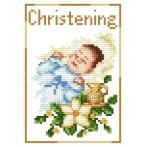 GU 4425-02 B.Sikora - Rememberance of baptism- Boy - Cross Stitch pattern