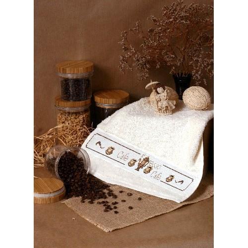 GU 4431 Towel with kettle - Cross Stitch pattern