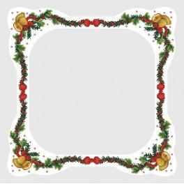 Table cloth with bells - Cross Stitch pattern