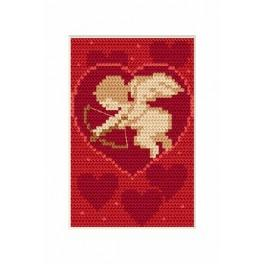 Valentine's day- Amor - Cross Stitch pattern