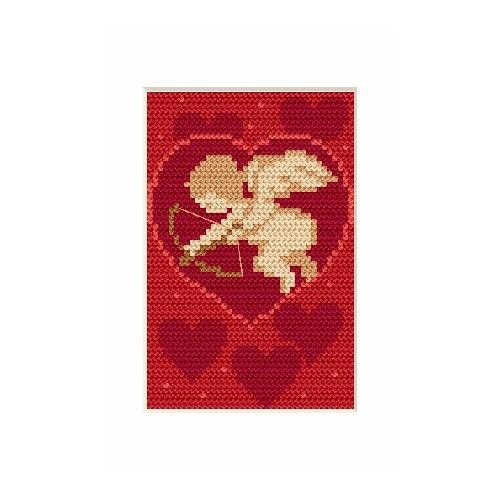 GU 4689-02 Valentine's day- Amor - Cross Stitch pattern