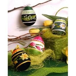 Easter eggs - B. Sikora-Malyjurek - Cross Stitch pattern