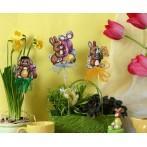 GU 4850 Cross stitch pattern - Easter hares