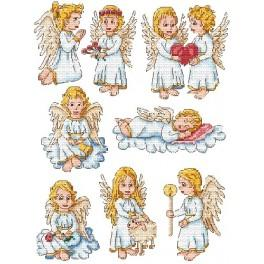 Angels - Cross Stitch pattern