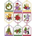 Cross stitch pattern - Gift tag