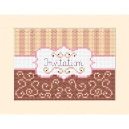 GU 4954-01 Invitation - Cross Stitch pattern