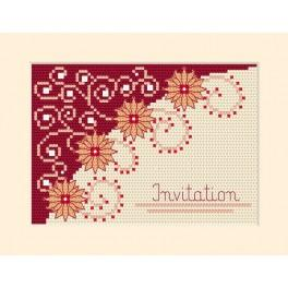 Invitation - Cross Stitch pattern