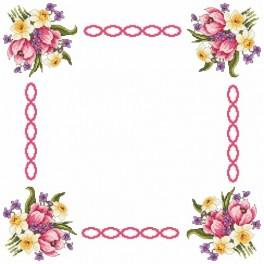 Napkin spring - Cross Stitch pattern