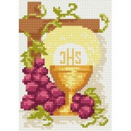 GU 8202 Holy communion card - Cross Stitch pattern