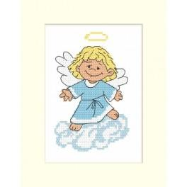 Angel card - Cross Stitch pattern