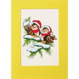 Christmas birds - Cross Stitch pattern