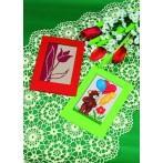 Birthday card - Teddy bear with ballons - Cross Stitch pattern