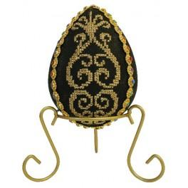 Cross stitch pattern - Egg with arabesque -