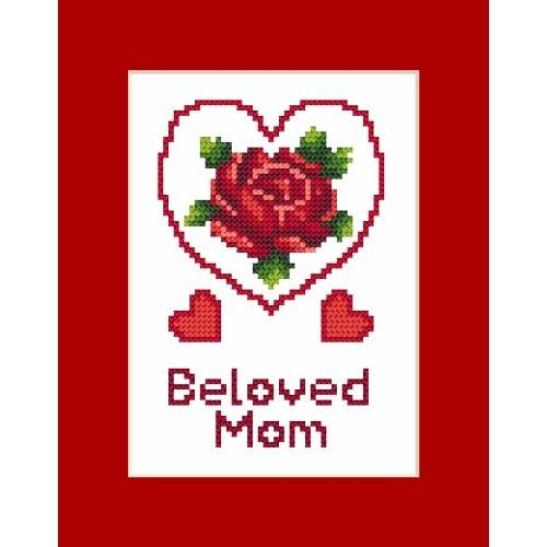 Occasional card - Mother's Day - Cross Stitch pattern