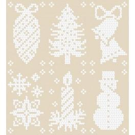 GU 8494 Christmas Designs - Cross Stitch pattern