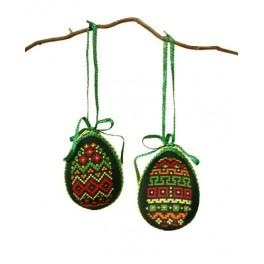 Easter eggs - Colorful patterns - Cross Stitch pattern