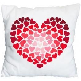 Cross stitch pattern - Pillow - Just for you