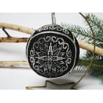 Cross stitch pattern - Christmas ball