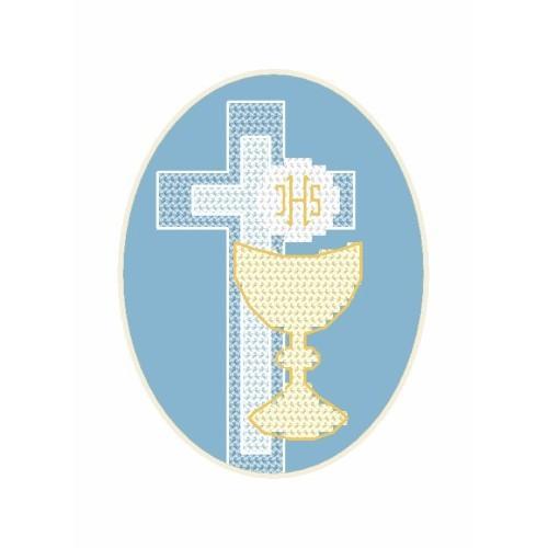 GU 8629-02 Card - Host - Cross Stitch pattern
