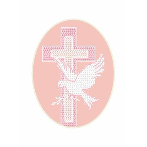 GU 8630-01 Card - Dove - Cross Stitch pattern