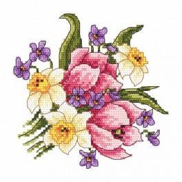 Online pattern - Spring bouquet