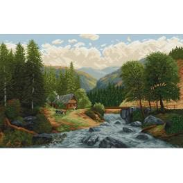 Online pattern - Mountain stream