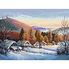 Online pattern - Winter melanholy - S. Sikora