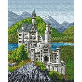 Online pattern - Bawarian Castle