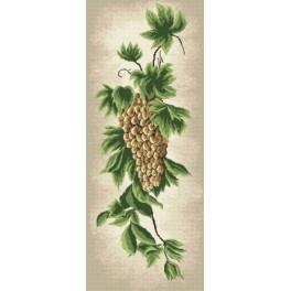 Online pattern - Twig of grape