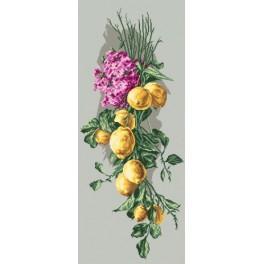 Online pattern - Lemon composition