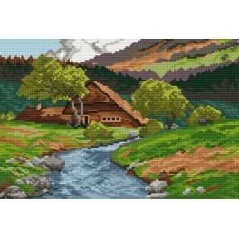 Online pattern - Mountain cottage