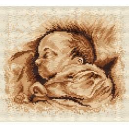 Online pattern - A sleeping child