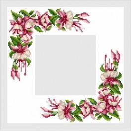 Online pattern - Napkin with a Fuchsia