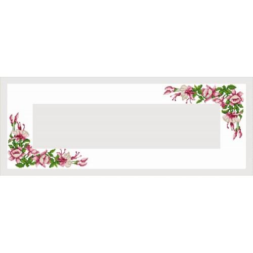 Online pattern - Runner with a Fuchsia