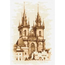 Online pattern - Church of the Virgin Mary - Prague