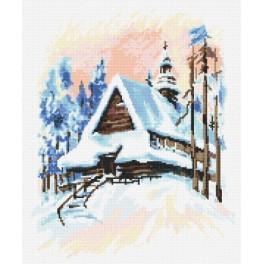 Online pattern - Winter landscape