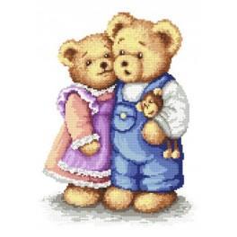 Online pattern - Mascots in love