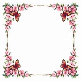 Online pattern - Tablecloth with butterfly