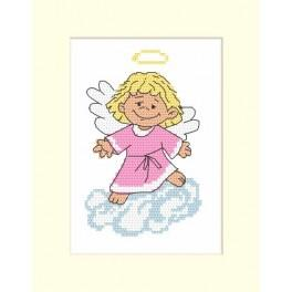 W 8334 Online pattern - Angel card