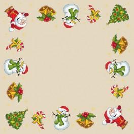Online pattern - Christmas napkin