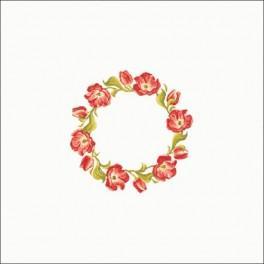 Pattern online - Tulips garland